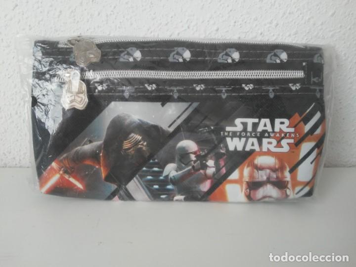 ESTUCHE DE TELA CON CREMALLERA STARWARS DISNEY THE FORCE AWAKENS (Juguetes - Figuras de Acción - Star Wars)