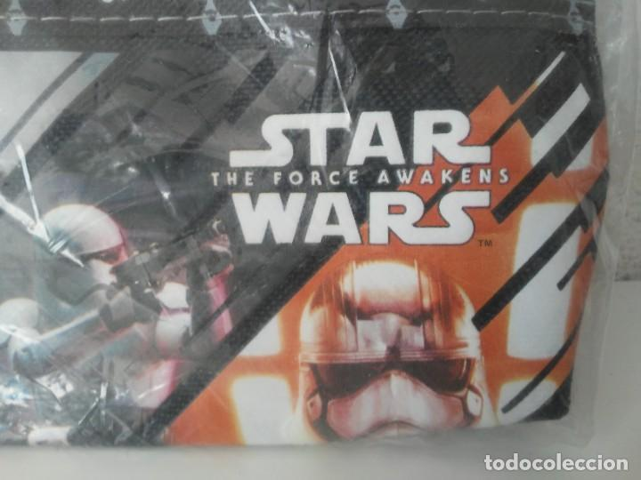 Figuras y Muñecos Star Wars: Estuche de tela con cremallera Starwars Disney The Force Awakens - Foto 3 - 221457315