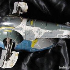 Figuras y Muñecos Star Wars: NAVE STAR WARS - SLAVE I - BOBA FETT - HASBRO, 2001 LUCASFILM - ENTREGA EN MANO -. Lote 221952627