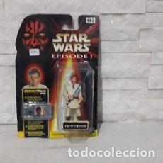 Figuras y Muñecos Star Wars: BLISTER OBI-WAN KENOBI STAR WARS EPISODIO UNO HASBRO. Lote 222056992