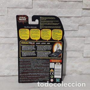 Figuras y Muñecos Star Wars: Blister Obi-wan kenobi star wars episodio uno Hasbro - Foto 2 - 222056992