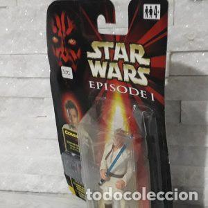 Figuras y Muñecos Star Wars: Blister Obi-wan kenobi star wars episodio uno Hasbro - Foto 3 - 222056992