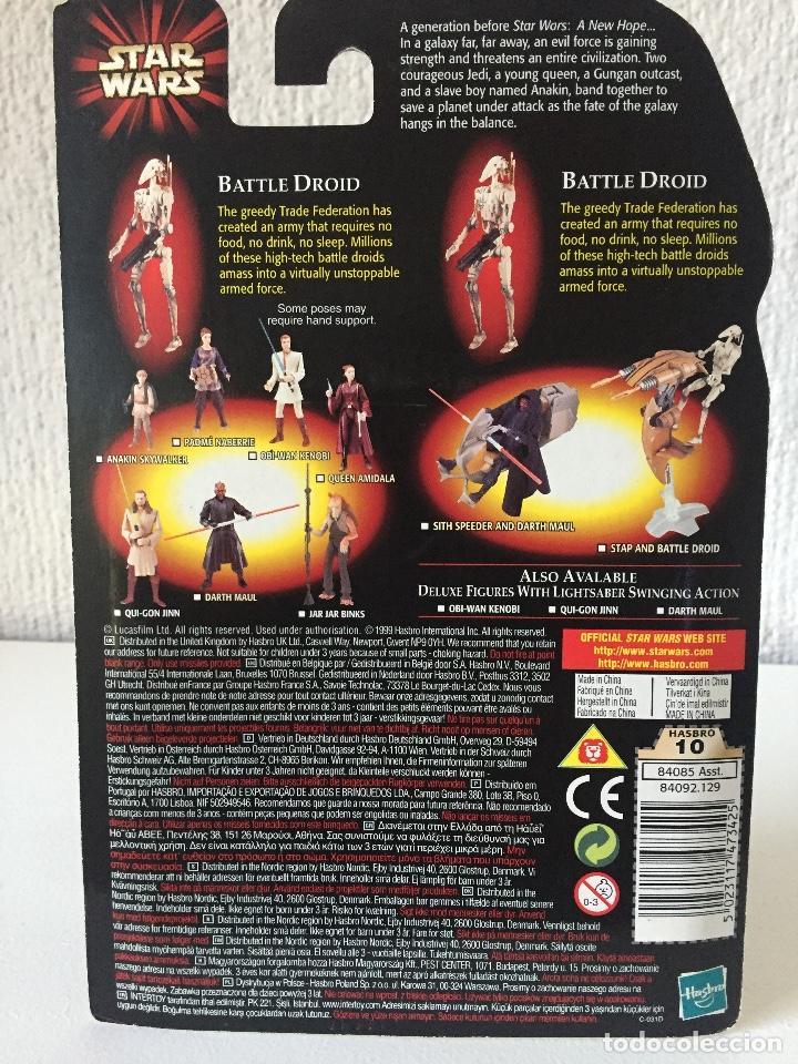 Figuras y Muñecos Star Wars: BATTLE DROID (DIRTY) WITH BONUS BATTLE DROID - STAR WARS - EPISODE I - 1999 - ¡NUEVA! - Foto 2 - 222063843