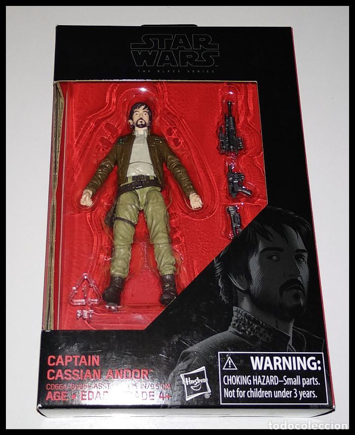 STAR WARS # CAPTAIN CASSIAN ANDOR # THE BLACK SERIES - 10 CM - NUEVO EN SU CAJA ORIGINAL, DE HASBRO. (Juguetes - Figuras de Acción - Star Wars)