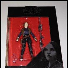 Figuras y Muñecos Star Wars: STAR WARS # SERGEANT JYN ERSO # THE BLACK SERIES - 10 CM - NUEVO EN SU CAJA ORIGINAL, DE HASBRO.. Lote 222066442