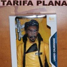 Figuras y Muñecos Star Wars: MUÑECO LANDO CALRISSIAN DE STAR WARS DE 30 CM ( 12 PULGADAS)DE GOMA, PVC, PLASTICO SIN USO EN SU CAJ. Lote 222092185