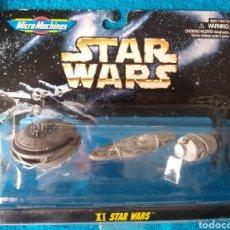 Figuras y Muñecos Star Wars: STAR WARS NAVES MICROMACHINES XI STAR WARS. Lote 222289776
