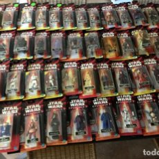 Figuras y Muñecos Star Wars: COLECCIÓN COMPLETA 50 FIGURAS EN BLISTER - STAR WARS - EPISODE I - 1999/2000 - ¡NUEVA!. Lote 222365090