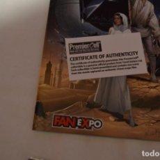 Figuras y Muñecos Star Wars: COMIC FANEXPO + DIAPOSITIVA ORIGINAL CERTIFICADA STAR WARS. Lote 222388420