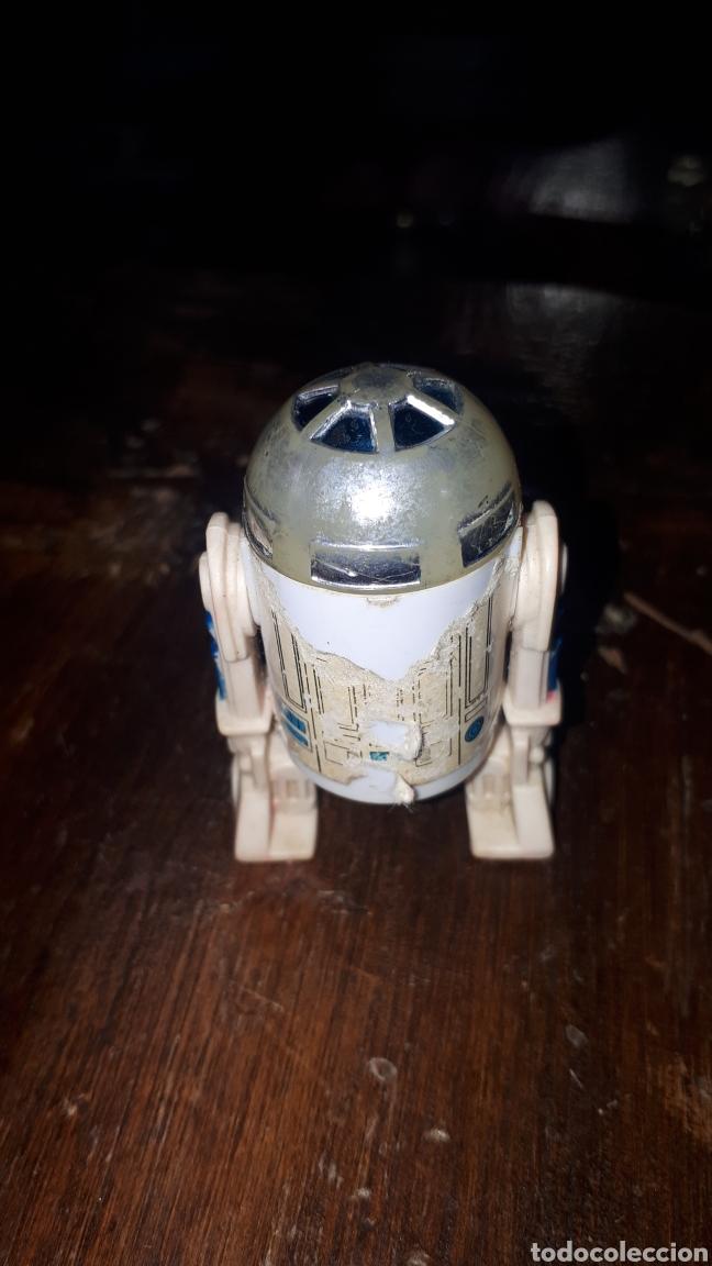 Figuras y Muñecos Star Wars: FIGURA R2D2 STAR WARS KENNER HONG KONG 1977 - Foto 3 - 222430868