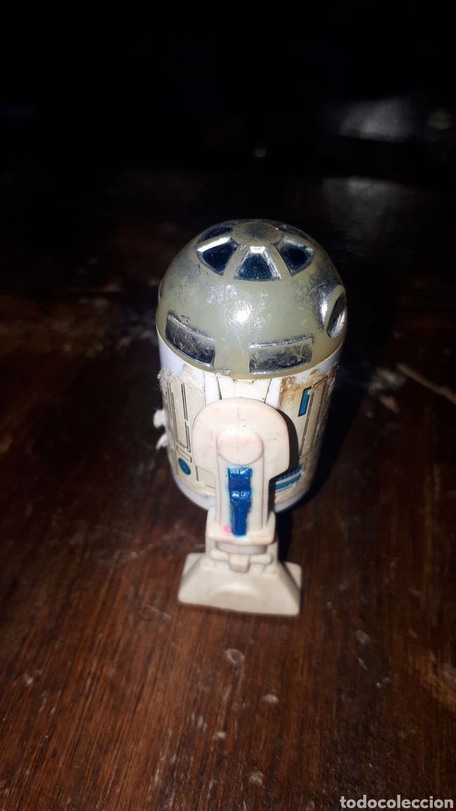 Figuras y Muñecos Star Wars: FIGURA R2D2 STAR WARS KENNER HONG KONG 1977 - Foto 4 - 222430868