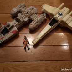 Figuras y Muñecos Star Wars: NAVE STAR WARS C-029A HASBRO 1999 Y-WING. Lote 222439633