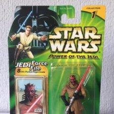 Figuras y Muñecos Star Wars: DARTH MAUL SITH APPRENTICE - STAR WARS - POWER OF THE JEDI - 2000 - ¡NUEVA!. Lote 222488290