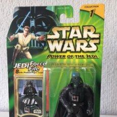 Figuras y Muñecos Star Wars: DARTH VADER EMPEROR'S WRATH - STAR WARS - POWER OF THE JEDI - 2000 - ¡NUEVA!. Lote 222489198