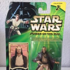 Figuras y Muñecos Star Wars: EETH KOTH JEDI MASTER - STAR WARS - POWER OF THE JEDI - 2000 - ¡NUEVA!. Lote 222489788