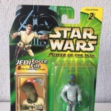 Figuras y Muñecos Star Wars: ELLORRS MADAK - FANS CHOICE FIGURE 1 - STAR WARS - POWER OF THE JEDI - 2000 - ¡NUEVA!. Lote 222490317