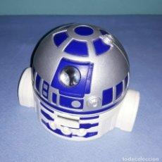 Figuras y Muñecos Star Wars: R2D2 RELOJ DESPERTADOR PROYECTA LA HORA DE STAR WARS ARTICULO PROMOCIONAL DE COLACAO COLA CAO. Lote 222589893