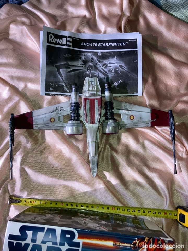 Figuras y Muñecos Star Wars: Star Wars Revell ARC-170 STARFINGHTER usado - Foto 4 - 222637101