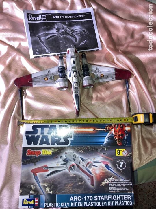 Figuras y Muñecos Star Wars: Star Wars Revell ARC-170 STARFINGHTER usado - Foto 2 - 222637101