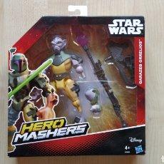 Figuras y Muñecos Star Wars: STAR WARS HERO MASHERS GARAZEB ORRELIOS REBELS HASBRO NUEVO MOC. Lote 222717550