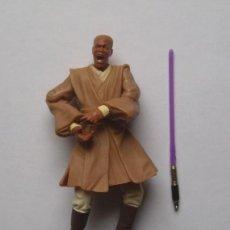 Figuras y Muñecos Star Wars: MACE WINDU (GEONOSIAN RESCUE) STAR WARS FIGURA SUELTA COMPLETA EPISODIO II. Lote 222843607