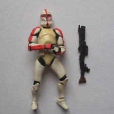 "Figuras y Muñecos Star Wars: CLONE TROOPER (CAPITAN) STAR WARS FIGURA SUELTA 3,75"" EPISODIO II SAGA. Lote 222843645"