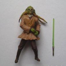 """Figuras y Muñecos Star Wars: KIT FISTO (JEDI MASTER) STAR WARS FIGURA SUELTA 3,75"""" EPISODIO II SAGA. Lote 222843726"""