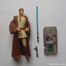Figuras y Muñecos Star Wars: OBI-WAN KENOBI (NABOO) STAR WARS FIGURA SUELTA COMPLETA EPISODIO I 1999. Lote 222843937