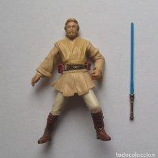 "Figuras y Muñecos Star Wars: OBI-WAN KENOBI (CORUSCANT CHASE) STAR WARS FIGURA SUELTA 3,75"" EPISODIO II SAGA. Lote 222844296"