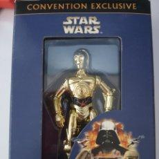 Figuras y Muñecos Star Wars: STAR WARS C-3PO EDICION LIMITADA DE LA JEDI-CON DEL 2001 NUEVA SIN ABRIR. EXCLUSIVA. HASBRO. Lote 222873825