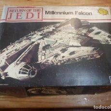 Figuras y Muñecos Star Wars: STAR WARS MAQUETA HALCON MILENARIO MPC - MADE IN MEXICO - MANTADO - VER FOTOS. Lote 234801890