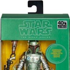 Figuras y Muñecos Star Wars: FIGURA STAR WARS BOBA FETT 40 ANIVERSARIO CARBONIZED. Lote 222947241