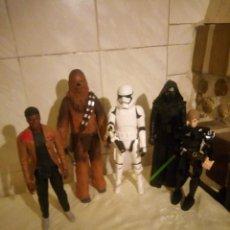 Figuras y Muñecos Star Wars: LOTE DE 5 FIGURAS ARTICULADAS DE STAR WARS HASBRO MADE IN INDONESIA,UNA ES DE LEGO. Lote 222954152