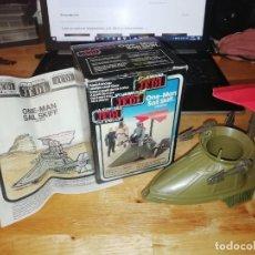 Figuras y Muñecos Star Wars: NAVE STAR WARS VINTAGE - ONE-MAN SAIL SKIFF VEHICLE - CAJA ORIGINAL - INSTRUCCIONES. Lote 223153261