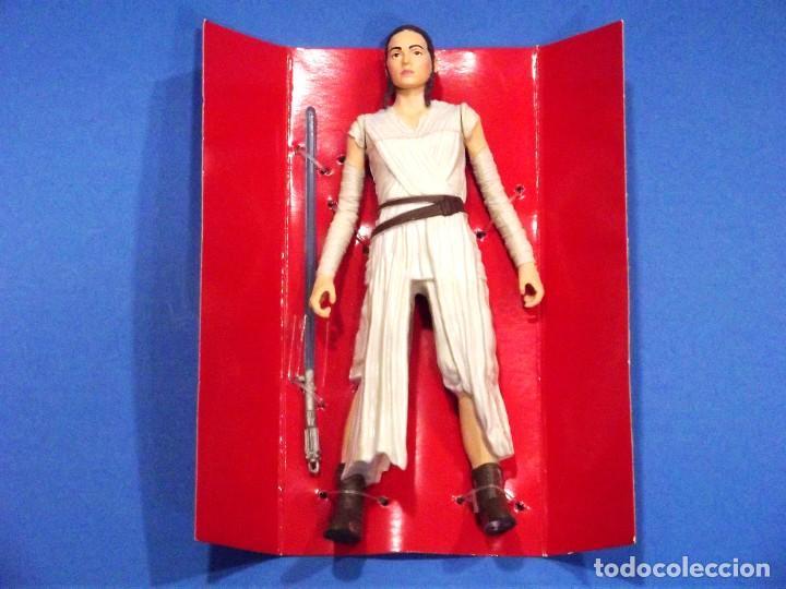 Figuras y Muñecos Star Wars: REY ( STARKILLER BASE ) - STAR WARS- HASBRO - NUEVA - EN SU CAJA ORIGINAL. - Foto 2 - 223744986