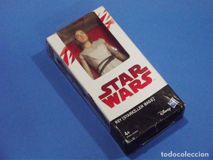 Figuras y Muñecos Star Wars: REY ( STARKILLER BASE ) - STAR WARS- HASBRO - NUEVA - EN SU CAJA ORIGINAL. - Foto 3 - 223744986
