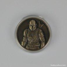 Figuras y Muñecos Star Wars: MONEDA MANDALORIAN STAR WARS. Lote 223922665