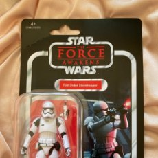 Figuras y Muñecos Star Wars: STAR WARS VINTAGE COLLECTION THE FORCE AWAKENS STORMTROOPER FIRST ORDER. Lote 224042121