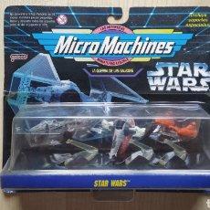 Figurines et Jouets Star Wars: STAR WARS MICRO MACHINES LA GUERRA DE LAS GALAXIAS COLECCION VI SLAVE I NUEVO A ESTRENAR MOC. Lote 224559892