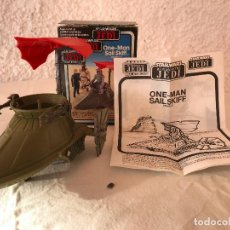 Figurines et Jouets Star Wars: ONE-MAN SAIL SKIFF - KENNER - STAR WARS 1983 - VINTAGE - AÑOS 80. Lote 224936246