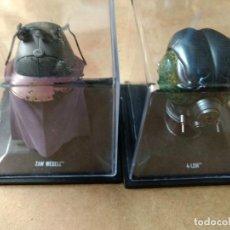 Figuras y Muñecos Star Wars: LOTE DE 2 CASCOS STAR WARS A ESCALA 1/5. 4-LOM- ZAM VESLL DE ALTAYA.. Lote 225060542