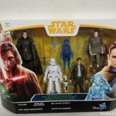 Figuras y Muñecos Star Wars: BLISTER STAR WARS .5 FIGURAS CON ACCESORIOS.AÑO 2017. Lote 225149118