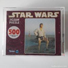 Figuras y Muñecos Star Wars: PUZZLE LUKE SKYWALKER STAR WARS 1977 JIG SAW CALIFICADO 75 POR UKG. Lote 225833230
