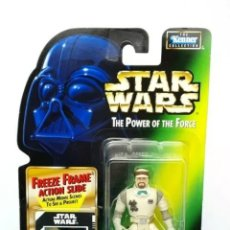 Figurines et Jouets Star Wars: FIGURA HOTH REBEL SOLDIER - STAR WARS POWER OF THE FORCE - KENNER HASBRO VINTAGE. Lote 225909588