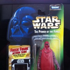 Figurines et Jouets Star Wars: FIGURA EMPEROR'S ROYAL GUARD - STAR WARS POWER OF THE FORCE - KENNER HASBRO VINTAGE. Lote 225910645