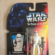 Figurines et Jouets Star Wars: FIGURA STAR WARS - STORMTROOPER - POWER OF THE FORCE - KENNER VINTAGE. Lote 225971772