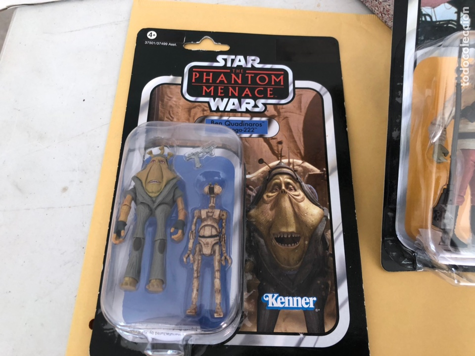 Figuras y Muñecos Star Wars: Star wars blister de kenner - Foto 3 - 226013020