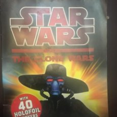 Figuras y Muñecos Star Wars: START WARS THE CLONE WARS HOLOCRON HUNTERS CUADERNO ACTIVIDADES. Lote 226438195