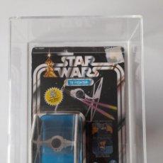Figuras y Muñecos Star Wars: TIE FIGHTER DIE CAST KENNER SIN ABRIR 12 BACK CALIFICADA POR UKG STAR WARS VINTAGE 1978. Lote 226491480