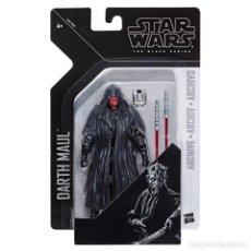 "Figuras y Muñecos Star Wars: DARTH MAUL ARCHIVE STAR WARS THE BLACK SERIES 6"" HASBRO. Lote 227194355"